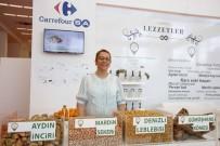ÇIÇEKLI - Zincir Market 'Coğrafi İşaretli' Ürünlerini Sergiledi