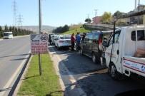 Zincirleme Kazada 6 Araç Birbirine Girdi Açıklaması 1 Yaralı