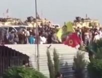 YPG - ABD askerleri öldürülen YPG'lilerin cenazesine katıldı