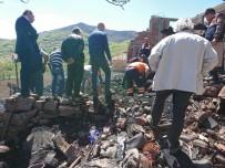 DİŞ PROTEZİ - Alevlerin Arasında Kalan Kadının Cesedi Bulunamadı