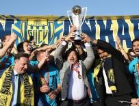 SERKAN ERGÜN - Ankaragücü kupasına kavuştu