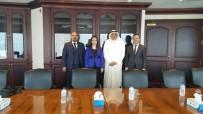 KUVEYT - Başkan Atasoy, Burgan Bank Başkanı Ajeel'i Ziyaret Etti