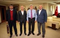 İŞÇİ SAĞLIĞI - Başkan Karaosmanoğlu, Sağlık-Sen Kocaeli Şubesini Ağırladı
