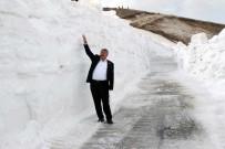 KARLA MÜCADELE - Bitlis'te Karla Mücadele Sürüyor