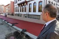 Çankırı'ya Renkli Ve Desenli Asfalt Uygulandı