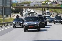 DEVLET BAŞKANI - 'Çerkez Cengiz' 10 Aylık Hapis İçin 100 Araçlık Konvoyla Cezaevine Gitti