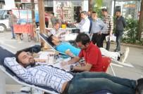 Cizrelilerden Kan Bağışına Yoğun İlgi