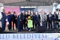 ÇETİN EMEÇ - Çorlu Atakent Kapalı Pazaryeri'nin Temeli Atıldı