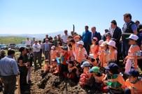 HAYVANCILIK - Demirci'de 3 Bin 500 Fidan Toprakla Buluştu