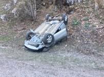 Domaniç'te Trafik Kazası Açıklaması 1 Yaralı