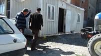 YAVRU KÖPEK - Erciş'te Yavru Köpek Kurtarma Operasyonu