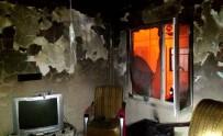 ALTıNOLUK - Evden Çıkamayan Yaşlı Kadın Yangında Can Verdi