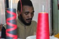 Ganalı Ampute Futbolcu Geçimini Tekstilden Sağlıyor