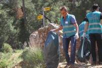 EKREM ÇALıK - Hükümlüler Tarihi Likya Yolunda Çevre Temizliği Yaptı