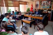 YEREL YÖNETİMLER - İlkokul Öğrencilerinden Başkan Yaman'a Ziyaret