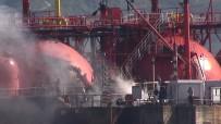 KIYI EMNİYETİ - Körfez Açıklarında LPG Tankeri Yandı Açıklaması 9 Yaralı