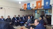 REFERANDUM - Milletvekili Eldemir Ve Başkan Yalçın'ndan AK Parti İlçe Teşkilatına Teşekkür Ziyareti