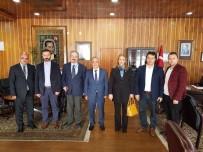 MOBBING - Mobbing İle Mücadele Derneği, Atatürk Üniversitesi Rektörü Prof.Dr. Ömer Çomaklı'yı Ziyaret Etti