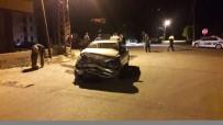 MEHMET GÜL - Mut'ta Trafik Kazası 2 Yaralı