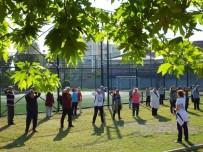 BEDEN EĞİTİMİ ÖĞRETMENİ - Nazillililer Yaza Sabah Sporu İle Formda Giriyor