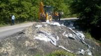 Ormanlık Alana Dökülen Kimyasal Atıklar Toplandı
