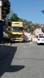 CEP TELEFONU - Beykoz'da Hazır Beton Kalıpları Yola Böyle Yıkıldı