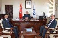 BARTIN ÜNİVERSİTESİ - Rektör Uzun'a Tebrik Ziyaretleri Başladı
