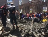 CAMİ İNŞAATI - Samsun'da cami inşaatı çöktü