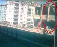 Samsun'daki Caminin Çökme Anı Kamerada