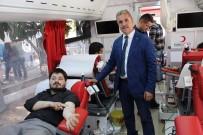 KAN BAĞıŞı - Şaphane'de Rekor Kan Bağışı