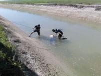 SULAMA KANALI - Sulama Kanalında Bulunan Erkek Cesedinin Kimliği Belirlendi