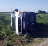 MİNİBÜS ŞOFÖRÜ - Tekirdağ'da Trafik Kazası Açıklaması 1 Yaralı