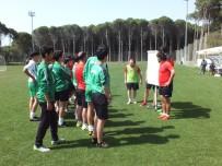 NECATİ ATEŞ - TFF UEFA B- Antrenör Kursu Antalya'da Yapıldı