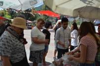 YÜZME YARIŞI - Yabancılar Yöresel Lezzetleri Tattı