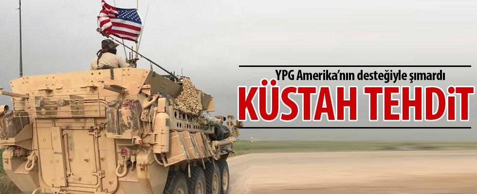 YPG Türkiye'yi tehdit etti