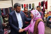 PAZAR ESNAFI - Başkan Altan, Pazarda 'Evet' İçin Destek İstedi
