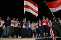 TEZAHÜRAT - Başkan Yağcı'dan Şampiyon Takım Sporcularına Prim