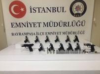 SUİKAST SİLAHI - Bayrampaşa'da Kalem Şeklinde Suikast Silahı Ele Geçirildi