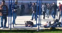 GEBZESPOR - Bozüyük'te Amatör Maçta Kavga Çıktı