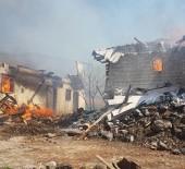 Çankırı'da Büyük Yangın Açıklaması 25 Ev Kül Oldu