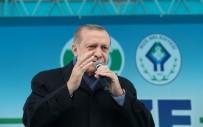 YARI BAŞKANLIK - Cumhurbaşkanı Erdoğan Memleketi Rize'de (2)