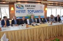 MEHMET ALI ŞAHIN - KAR-VAK Mütevelli Heyet Toplantısı Karabük'te Yapıldı
