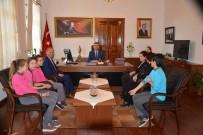 ERSIN YAZıCı - Öğrencilerden Kaymakam Sırmalı'ya Teşekkür Ziyareti