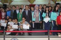 MEHMET MARAŞLı - Okul Sporları Bölge Satranç Turnuvası Ödül Töreni Yapıldı