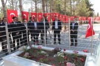 Sağlık-Sen Genel Başkanı Memiş, Ömer Halisdemir'in Kabrini Ziyaret Etti