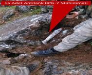 ALAY KOMUTANLIĞI - TSK Açıklaması '15 Adet RPG-7 Anti-Tank Mühimmatı Ele Geçirildi'
