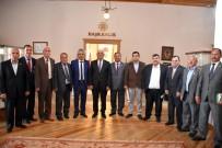 OSMAN GÜRÜN - Ziraat Odaları'ndan Başkan Gürün'e Ziyaret