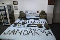 TABUR KOMUTANLIĞI - Adıyaman'da Yapılan Operasyonda Silah Ve Mühimmat Ele Geçirildi
