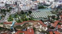 ÇAY BAHÇESİ - Cumhuriyet Meydanı'nda Çalışmalar Başladı