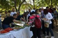 KANAL D HABER - Didim Vegan Festivalinin İkinci Günü Vegan Kahvaltıyla Başladı